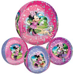 "Minnie Mouse Orbz Balloon - 25"" Long Lasting"