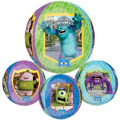 Monsters University Orbz Balloon - 25