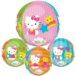 "Hello Kitty Orbz Balloon - 16""-18"" Foil"