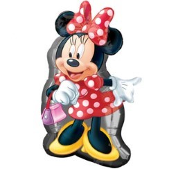 "Minnie Mouse Shape Balloon - 32"" Foil"