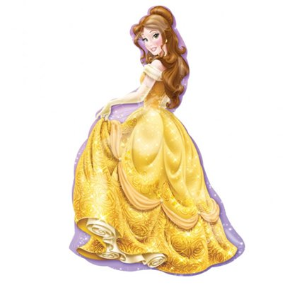 Disney Belle Supershape Balloon - 39