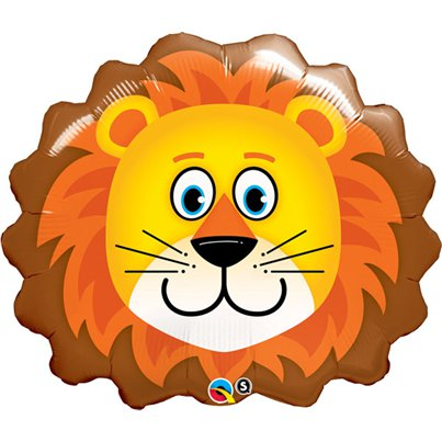 "Loveable Lion Supershape Balloon - 29"" Foil"