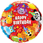 "Party Animals Kids Balloon - 18"" Foil"