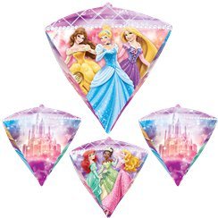 "Disney Princess Diamondz Balloon - 24"" Foil"