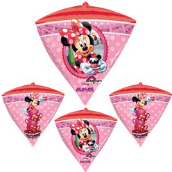 Minnie Mouse Diamondz Balloon - 24'' Foil
