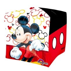 "Cubez Mickey Mouse Balloon - 15"" Foil"
