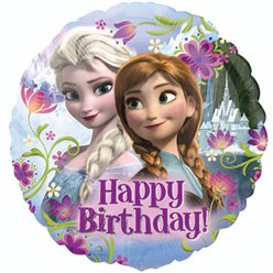 Frozen Happy Birthday Balloon - 18'' Foil