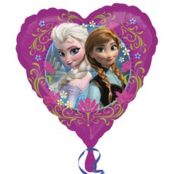"Frozen Heart Balloon - 18"" Foil"