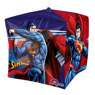 "Cubez Superman Balloon - 15"" Foil"