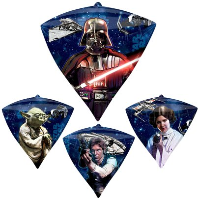 Star Wars Diamondz Balloon - 24