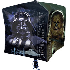 "Star Wars Cubez Balloon - 24"" Foil"