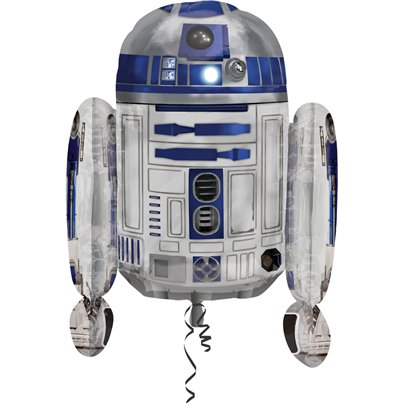 "Star Wars R2D2 SuperShape Balloon - 22"" Foil"
