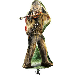 "Star Wars Chewbacca Supershape Balloon - 38"" Foil"