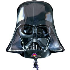 "Star Wars Darth Vader Helmet Supershape Balloon - 25"" Foil"