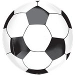 "Soccer Ball Orbz Balloon - 16""-18"" Foil"