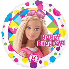 "Barbie Happy Birthday Balloon - 18""Foil"