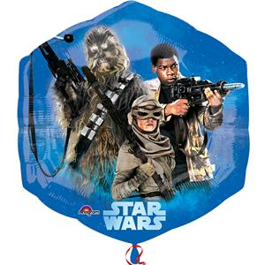 "The Force Awakens Supershape Balloon - 22"" Foil"