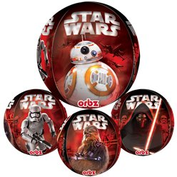 "Star Wars The Force Awakens Orbz Balloon - 16"" Foil"