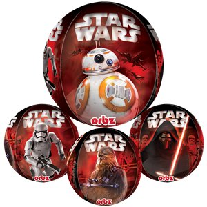 Star Wars The Force Awakens Orbz Balloon - 16