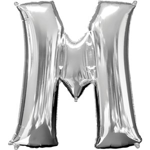 'Mr & Mrs' Silver Balloon Kit - 16
