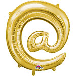 "Gold  Shaped Balloon - 16"" Foil"