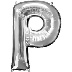 'POP' Silver Balloon Kit - 34