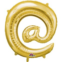 "Gold  Shaped Balloon - 34"" Foil"