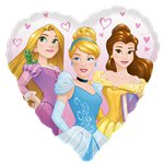 "Disney Princess Heart Balloon - 18"" Foil"
