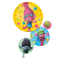 "Trolls SuperShape Balloon - 28"" Foil"