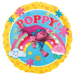 "Trolls Poppy Balloon - 18"" Foil"