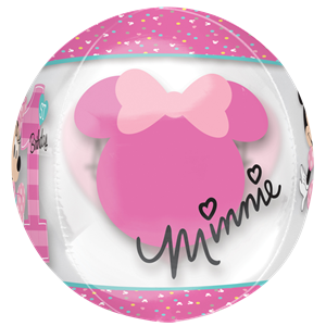 Minnie Mouse 1st Birthday Orbz Balloon - 16