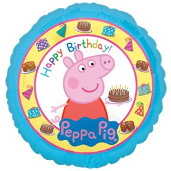 Peppa Pig Happy Birthday Balloon - 18