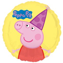 "Peppa Pig Balloon - 18"" Foil"