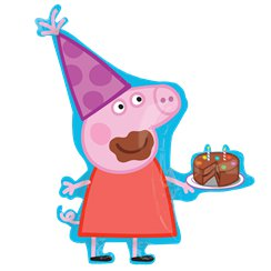 "Peppa Pig Supershape Balloon - 33"" Foil"