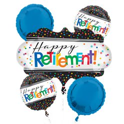 Officially Retired Balloon Bouquet - Assorted Foil