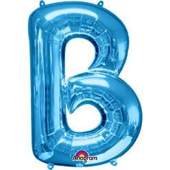 Blue Letter B Balloon - 34