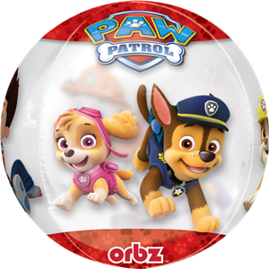 Paw Patrol Chase & Marshall Orbz Balloon - 16