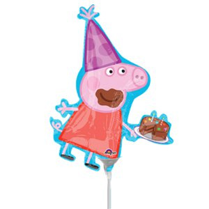 Peppa Pig Mini Foil Balloon - 10