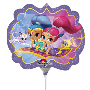 Shimmer & Shine Mini Shape Balloon - 9
