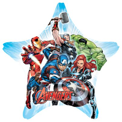 "Avengers SuperShape Balloon - 32"" Foil"