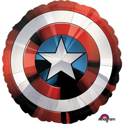Avengers Shield XL Foil Balloon - 28