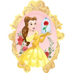 "Beauty & The Beast SuperShape Balloon - 31"" Foil"