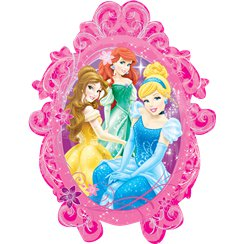 "Disney Princesses Frame SuperShape Balloon - 31"" Foil"