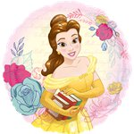 "Beauty & The Beast Balloon - 18"" Foil"