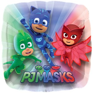 "PJ Masks Supershape Balloon - 28"" Foil"