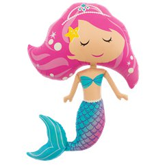 "Mermaid Supershape Balloon - 37"" Foil"