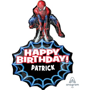 Spider-Man Personalized Foil Balloon - 34