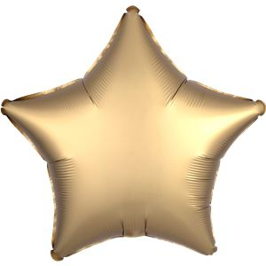 Gold & Black Foil Star Balloon Bouquet - Delivered Inflated
