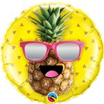 "Mr Cool Pineapple Foil Balloon - 18"" Balloon"