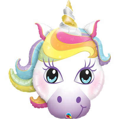 Magical Unicorn Supershape Balloon - 38